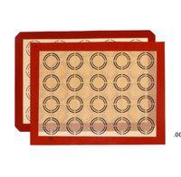 Utensili da pasticceria Macaron in silicone Tappetino da forno per padelle di cuocere macaroon / pasticceria / biscotto per la creazione di prodotti professionali non astuto llb9681