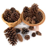 Decorative Flowers & Wreaths 1 5 10Pcs Natural Pine Nuts Fruit Dried Artificial Pineapple Cones For Home Christmas DIY Garland Wreath Weddin