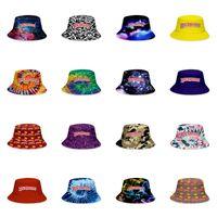 Backwoods Buckets 17design Casquettes Visor Men Travel Sun Hat Sport Patchwork Leisure Woman Fisherman Cap Solid Color Bucket Caps Ou jllntp