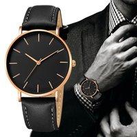 Armbanduhren Geneva Minimalistische Stil Herrenquarz Watch Explosionsmodelle Business Casual Clock
