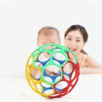 Baby Toys Rattles Kids Juguetes educativos Grasping Bolas para cunas recién nacidas Cochecito Soft Safety Hand Bells Baby Speelgoed 1151 x2