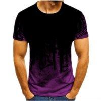 QFPA Man Homme Mode HEM OMM T-shirts Été T-shirts T-shirts T-shirts T-shirts Courbe Chemise Capuche Zipper Design T-shirts Courts T-shirts Casual Haut pour