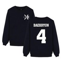 Women's Hoodies & Sweatshirts EXO Member Name Print Spring Women Pullover Hip Hop Casual Clothes Plus Size 4XL