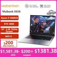 "Laptops Maibenben Super Gaming Laptop X658 [ 16"" 2.5K Screen, AMD Ryzen 9 5900HX,GeForce RTX 3060,DDR4-3200MHz,WiF6,Backlit Keyboard]"