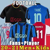 20 21 AJAX Amsterdam Fußballtrikot FC 2020 2021 KUDUS ANTONY BLIND PROMES TADIC NERES CRUYFF Männer Kinder Kit Trikot Uniformen dritten 50 ..