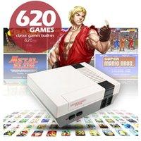 NOSTALGIC HOST MINI TV CAN MAĞAZASI 620 Game Console Video Handheld Nes Oyunları Konsolları için 1 Oyuncu Oyuncu