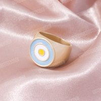 European and American trend ins circle dripping oil ring wild popular female