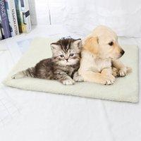 개집 펜 60 * 45cm 겨울 따뜻한 애완 동물 자기 가열 담요 패드 개 고양이 수면 매트리스 용품