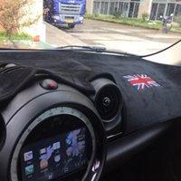 Araba Dashboard Mat Anti-Glare Kapak Mini Cooper R60 R61 Için Işık Yastık Pad Kaçının R60 R61 Countryman 2011 2012 2013 2014 2021 Diğer İç Erişim