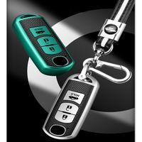 Key Wallets Fallabdeckung in einer Entfernung des Lederwagens TPU für Mazda 2 3 5 6 CX-3 CX-4 CX-5 MX5 CX-7 achten Sie auf Axel CX-9 CX3 CX8 Zubehör