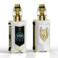 Cigarros eletrônicos Vape 100% original Sigelei Snowwolf Mfeng Kit 200W Super Power