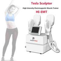 Emslim Machine Hi-Emt Sculpt Slimming EMS تحفيز العضلات الكهرومغناطيسي الدهون حرق تشكيل معدات التجميل HIEMT