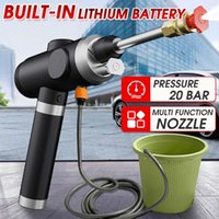 Car Washer 20 Bar 12V High Pressure Cordless Water Spray Gun Foam Nozzle Auto Cleaning USB Rechargeable Electric Cleaner