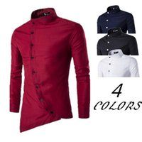 Stijlvolle 2019 Moslim Islamitische Kleren Saoedi-Arabische Lange Shirt Pak Mannen Jurk Casual Shirts Kaftan Hombre Robe Big