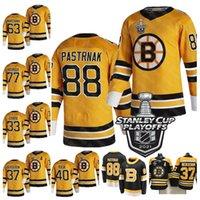 Boston Bruins براد مارشاند 2021 ستانلي كأس Playoffs جيرسي ديفيد باسترنك راي بورك باتريس بيرجرون كيفان ميلر زحنا شارا راسك أور ديبروسك الهوكي الفانيلة