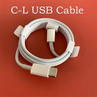 الأصلي OEM جودة شاحن سريع كابلات PD كابل 1 متر 3ft 2 متر 6ft USB-C إلى 11PRO لمدة 12 برو ماكس مع حزمة حزمة