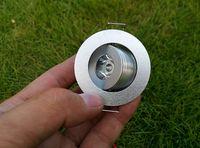 캐비닛 램프 1 와트 LED 천장 스포트 라이트 따뜻한 화이트 자연 화이트 쿨 화이트 AC 85-265 볼트 최근 통 홈 장식 1 와트
