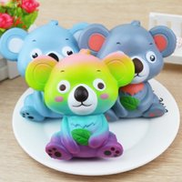 Squishy cartoon koala 12 cm new giant lovely wet soft bread ...