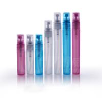 5ML 8ML 10ML زجاجة رذاذ بلاستيكية ، فارغة حاوية العطور مستحضرات التجميل مع ضباب البخاخة فوهة ، قارورة عينة العطور