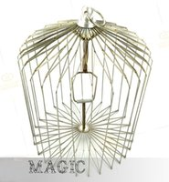 Free shipping Medium Dove Cage Appearing (silver) , Folding ...