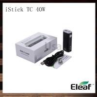 Eleaf Istick TC 40W MODキットOLEDスクリーンISMOKA ISTICK 40W 2600MAH電子タバコバッテリーVW温度制御モッズ装置100%オリジナル