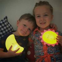 Novità 5 design ha condotto la lampada di notte ha condotto le luci per la decorazione Illuminazione LED Night Light Lampada Home Room Desk decorazione kid410