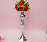 Venta al por mayor - no incluye flor, envío gratis florero vintage / mesa centro de mesa 123 / 39cm alto / mental123 portavelas