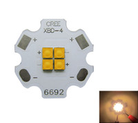 CREE XB-D XBD 12W 4 LEDS niebieski zielony czerwony żółty ciepły biały Mixcolor 350-700mA LED Light DIY 25 sztuk / partia