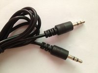 Hot Sale 50cm Black Aux Auxiliary Cable 3. 5mm Male to Male A...