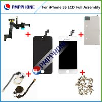 For iPhone 5S LCD Display Assembly with Touch Screen Digitiz...