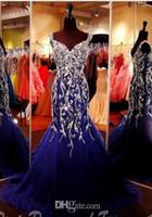 2018 New Designer Mermaid Sheath Tulle Beaded Party Homecoming Abito da ballo Evning Gown Ball Gown Custom