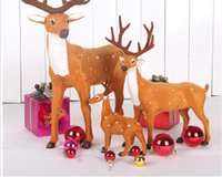 Christmas decorations simulation deer large sika deer Elk ca...