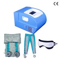 Profissionais 24 Air Bags pressoterapia máquina com ombro listras e mangas Para Drenagem Linfática Whole Body Massage corpo emagrecimento máquina