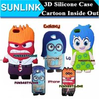 Inside Out Seris Phone Case For iPhone 5S 6 6S Plus Samsung ...