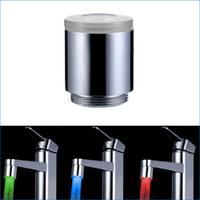 Color Faucet Light, Termostato de tres colores emisor de luz, adaptador de la llave LED, luz del grifo, J14187