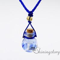 Difusor medallón perfume botellas pequeñas aceite difusor aromaterapia joyas joyas