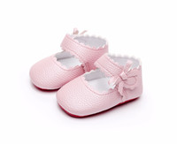 HONGTEYA pu leather baby moccasins shoes red sole princess b...
