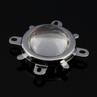 Wholesale-1Set led 렌즈 + 반사경 콜리메이터 + 고정 브래킷 20W 30W 50W 70W 100W LED