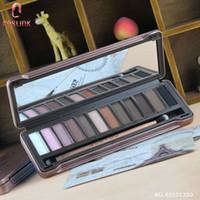 Guetou sempre-mudança de 12 tons paleta de sombra glitter olho sombra cor nude maquiagem olhos sombras caixa