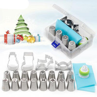 20PCS Christmas Style Pastry&Nozzle Cookie Mold Set Santa Cl...
