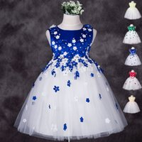 High Quality Flower Girl Dresses Princess Girls Pageant Dres...