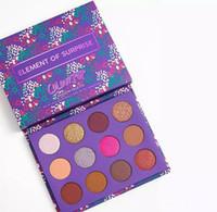 Dropshipping Renk Pop sürpriz öğesi makyaj paleti Marka göz farı paleti göz farı kozmetik kızlar için Noel hediyesi 12 renkler
