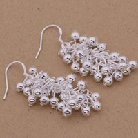 Fashion Luxurious glamour ashion (Jewelry Manufacturer) 20 pcs a lot earrings 925 sterling silver jewelry factory price Fashion