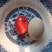 Chegam novas Ovo Cor Perfeita Mudando Ovo Temporizador Perfeito Ovos Cozidos Cozinhando Suprimentos de Cozinha Ajudante Frete Grátis