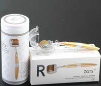 ZGTS 0.2-3.0mm Microneedle Derma Roller 192 corps de l'aiguille et le traitement ultime du visage pour la réduction des vergetures, des rides et des grands pores