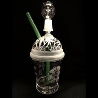 DABUCCINO ARTIFICIAL STARBUCKS GLASE BUBBLER OIL RIG Dab Concentrate Oil Rig HITMAN GLASS X EVOL CRISTAL DABUCCINO RIGS INSPIRED CUP RIG