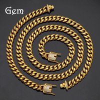 18K Gold Plated Hiphop Jewelries Sets Men' s Hip- Hop Bra...
