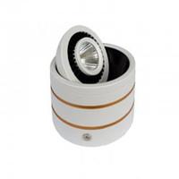 360 Graus Rotatable Bulb a superfície montada 3W 5W 7W COB LED Downlight 85-265V AC Quente Branco fresco branco da lâmpada para baixo luzes Lamparas de techo CE