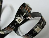 B Yフェデックス50M 10X5M WS2812B WS2812 2812 RGB LEDストリップ30LED / M SMD 5050 WS2812 IC非防水デジタルライトドリームカラーDC 5V