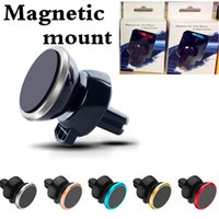 Universal Metal Air Vent Magnetic Mobile Phone Holder Magnet...